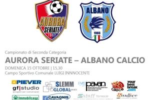 AURORA SERIATE – ALBANO CALCIO